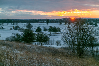 Sunrise from the Hill