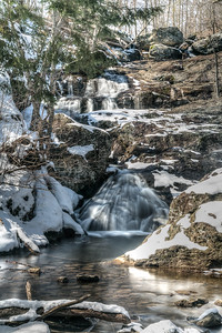 Cunningham Falls in Winter