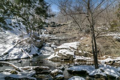 Cunningham Falls in Winter