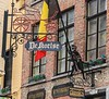 Street signs in Bruges.