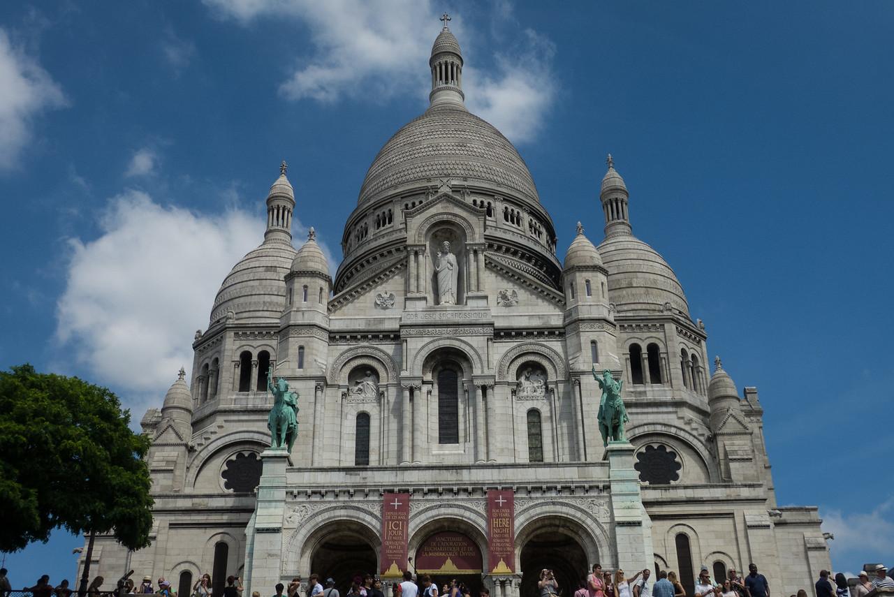 Sacre Coeur in Montmartre