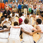 The Ballard Bruins celebrated their 7th Region championship and their berth in the Sweet 16.
