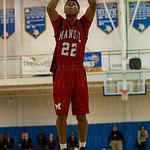 Dwayne Sutton (22) stepped up to the free throw line.