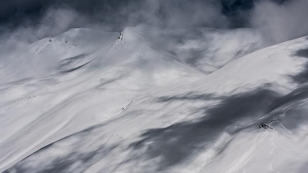 Ombres et neige