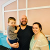 Jason Costos with adorable Mason and Amoura Chamberlain of Leominster