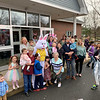 The Easter Bunny had plenty of buddies.