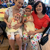 Amanda Catalano of Lowell with her beautiful little girls, Lilly and Maddy, and her mom, Elks member Lisa Catalano of Derry