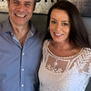 Andiamo's owner and Executive Chef Jim Rogers and lovely wife Patricia Collins