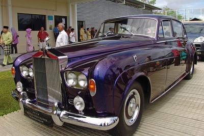 Der Rolls Royce des Sultans... ... und seiner Familie