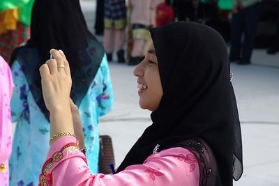 Handies sind sehr populär in Brunei. Auch zum fotografieren.