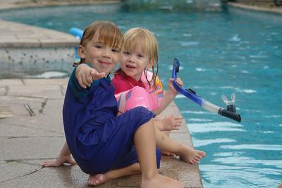 Ein letztes Mal im Empire. Dort trafen wir uns mit Familie Grafe am Pool. Clara wird Richard sicherlich vermissen.