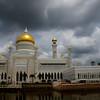"The imposing yet impressive Sultan Omar Ali Saifuddin Mosque - Bandar Seri Begawan, Brunei.  To view the rest of my travel gallery from Bandar Seri Begawan, Brunei on the photo. <a href=""http://nomadicsamuel.com"">http://nomadicsamuel.com</a>"