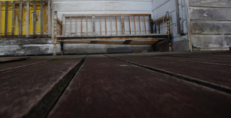 "An old abandoned bench in Kampung Ayer (largest water stilt village) located in Bandar Seri Begawan, Brunei. Travel photo from Bandar Seri Begawan, Brunei. <a href=""http://nomadicsamuel.com"">http://nomadicsamuel.com</a>"
