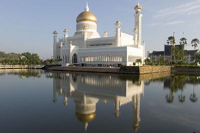 Eine Moschee in Bandar.