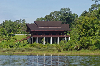 The Multi Purpose Hall from the water.
