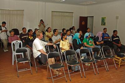Hj Ramlee gave an interesting presentation about the World Heritage ParkTasek Merimbun.