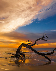 Sunrise on Jekyll Island
