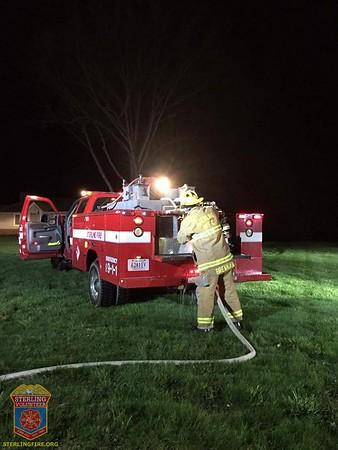2016 - Brush Fire April 4, 2016