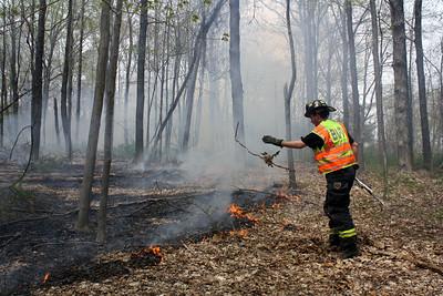 Budd Lake Handles Brush Fire