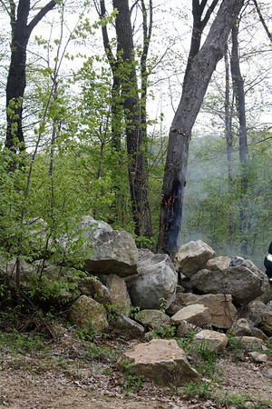 Small Brush Fire Knocked in Budd Lake