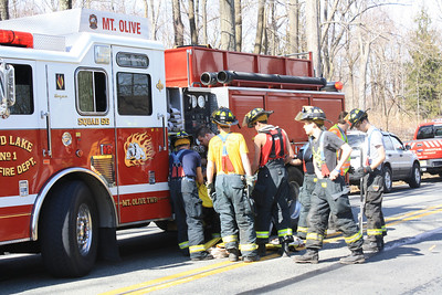 Budd Lake Fights Brush Fire in ITC