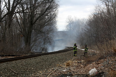 Train Starts Brush Fires in Mt. Olive