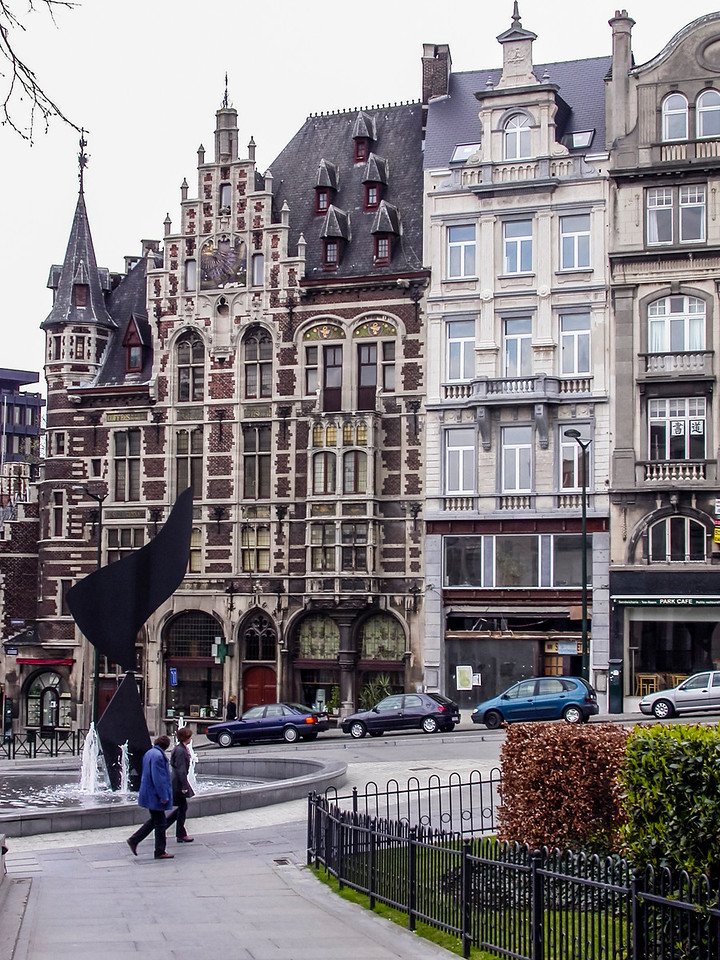 Around town in Brussels in 2003