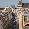 Rooftop view of central Brussels