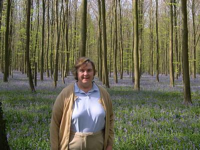 Blue Bell Forest, Brussels, April 21, 2007
