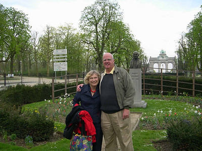 Dale and Cindy Bonga Visit to Brussels April 25-26 2006