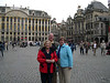 Cindy, Dale and Susan in the Grand Place.