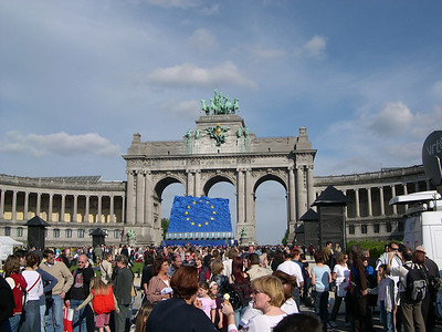 EU Accession Day for Ten New Member Countries, May 1, 2004