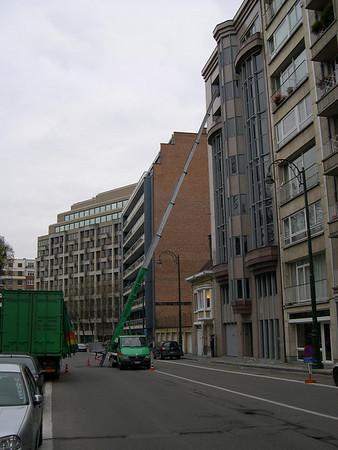 Moving Day, Brussels, November 28, 2007
