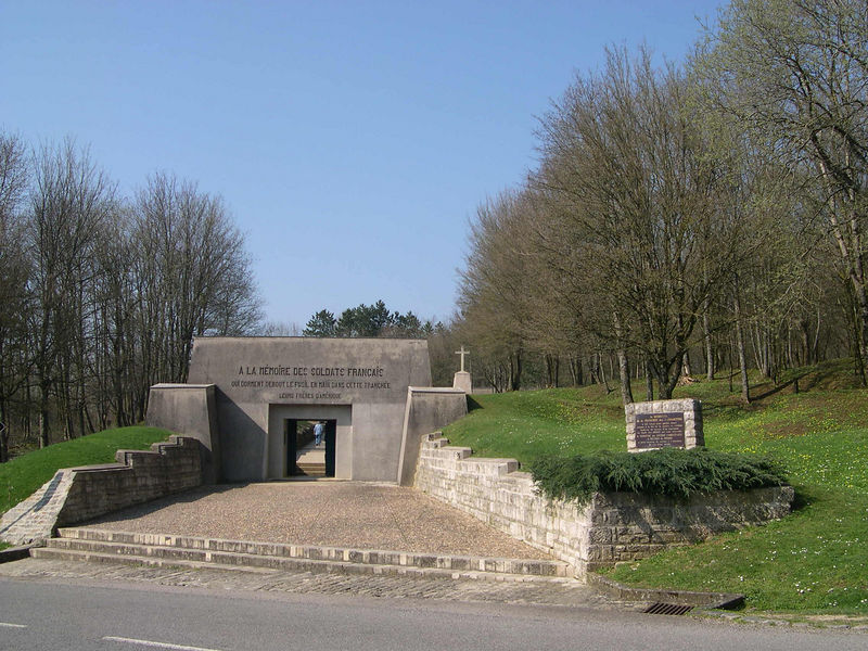 Entrance to the Trench of Bayonets.