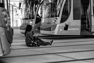Dépot et ateliers Tram STIB