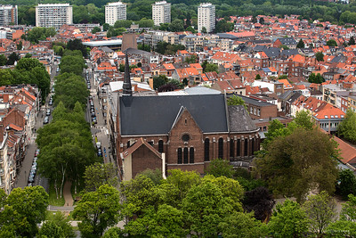 Panorama - basilique de Koekelberg