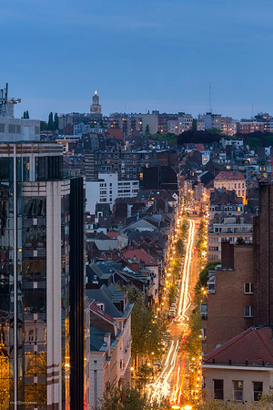 Rooftop depuis la Place Jean Jacobs