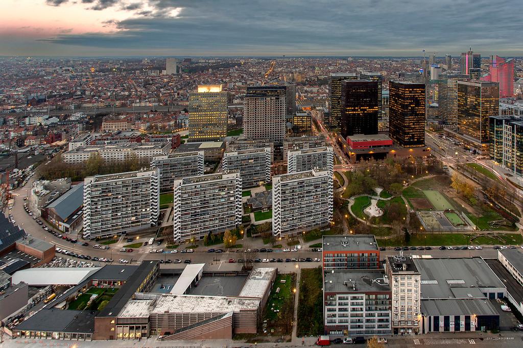 Rooftop - Quai des Péniches - 1000 Bruxelles