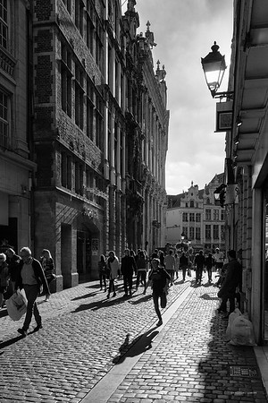 Brussels street life