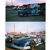 Marc Gossel in the BGR # 53 & Bryan Gossel In the 72 IMCA Mod. RMNS Rocky Mt. Nat. Speedway 09-01-96