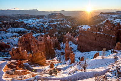 Bryce Canyon National Park Autumn Colors & Winter Snow Fine Art Photography 45EPIC Dr. Elliot McGucken Fine Art Landscape and Nature Photography!
