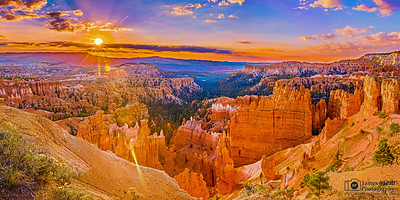 """""""Radiant Towers,"""" Bryce Canyon National Park, Utah"""