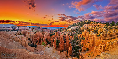"""Fairyland Sunrise,"" Bryce Canyon National Park, Utah"