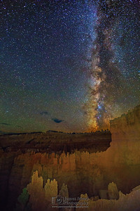 """Down in the Silent City,"" The Milky Way over the Silent City, Bryce Canyon National Park"