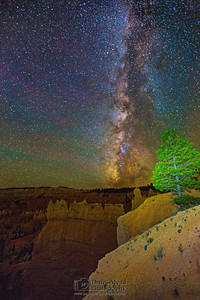 """Royal Starlight,"" the Milky Way over the Queen's Garden, Bryce Canyon National Park"
