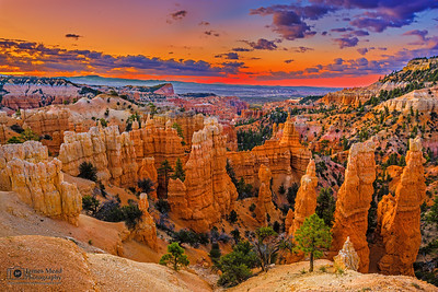 """Fairyland Glow,"" Bryce Canyon Nationa Park, Utah"