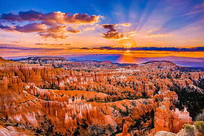 """Good Morning Bryce,"" Bryce Canyon Sunrise, Bryce Canyon National Park, Utah"