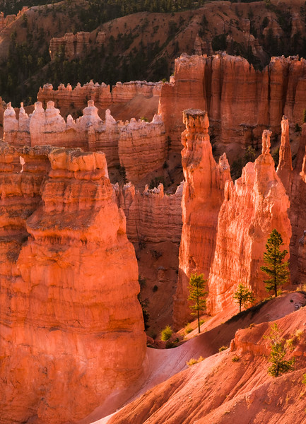 Bounce light on Hoodoos