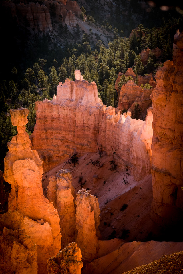 30 minutes after sunrise - Bryce