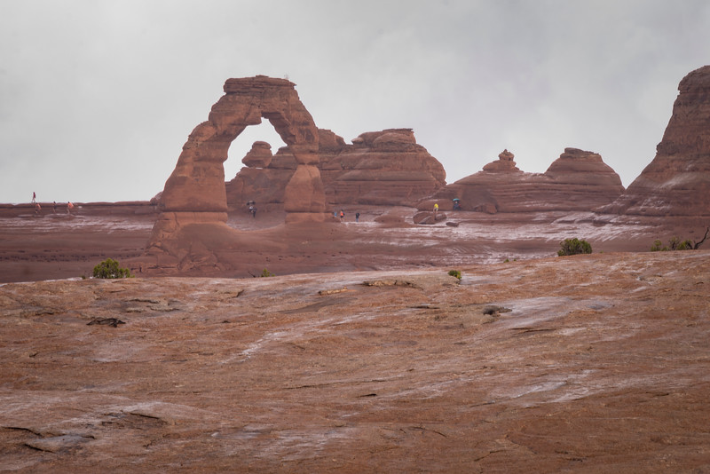 Rainy Day Delicate Arch